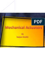 Mechanical Actuators