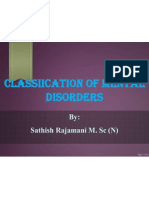Classification of Mental Illness
