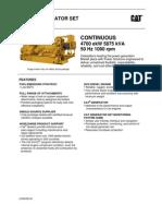 3616 5875 kVA 50Hz Continuous Lowbsfc