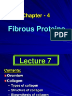 Fibrous Proteins - 3 Lecture (7-9) - Ppt- Chapter 4 (1)