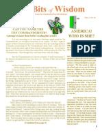 October Tid Bits of Wisdom 2012 Press