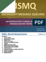 MSMQ - Microsoft Message Queueing