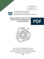 PEMELIHARAAN/SERVIS KOPLING DAN KOMPONEN-KOMPONENNYA SISTEM PENGOPERASIAN