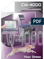 DIBAL - CW-4000 Checkweighers - Brochure
