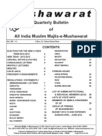 Quarterly Mushawarat Bulletin Jan-Jun 2012