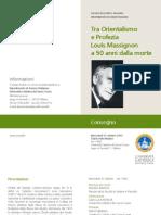 MASSIGNON Pieghevole - 31 Ottobre