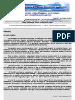 Boletin Nº 34 de la Comision Exiliados Argentinos en Madrid