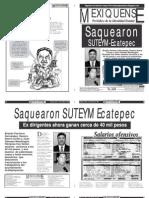 Versión impresa del periódico El mexiquense 5 de octubre 2012