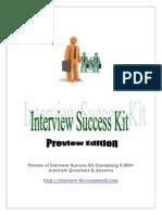 Interview Success Kit Pdf