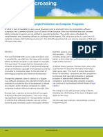 Top EU Court Limits Copyright Protection on Computer Programs
