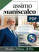 Massimo Maniscalco per Italiani liberi e forti - il programma