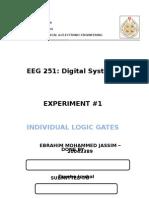 Experiment 1 digital