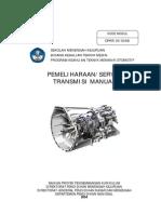 Pemeliharaan Servis Transmisi Manual