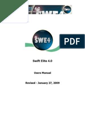 Swift Elite 4 - Complete Manual | Codec | Microsoft Windows