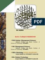 Tariq Research T&D1