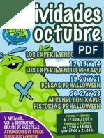Actividades Castillo de Xadú Octubre 2012 - Madr