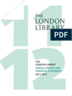 London Library Annual Report 2011-2012