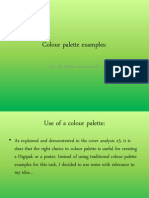 Colour Palette Examples