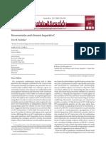 Rosuvastatin and Chronic Hepatitis C