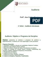 1a Aula Auditoria Introdução POMPÉIA