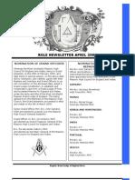 1 Newsletter RGLE April 2005