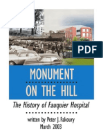 History of Fauquier Hospital
