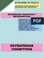 Estrategias Cognitivas y Metacognitivas