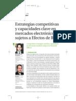 UBR - Estrategias competitivas y capacidades  clave en mercados electrónicos sujetos a Efectos de Red