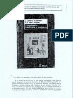 Comprender y tranformar la enseñanza; Gimeno Sacristan- Pérez Gómez; Cap VI 6 Currículum oculto y manifiesto