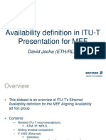 Availability Definition in ITU-T_2