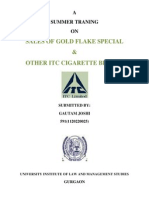 Project Report on Cigarette2