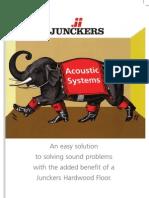 Junckers Acoustic Brochure 2008