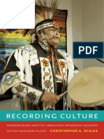 Recording Culture by Christopher A. Scales