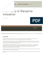 Disruptive Innovation - 2012 06 16