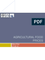 Agricultural Food Prices