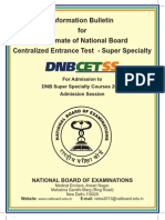 DNB CET-SS Book _ 2013