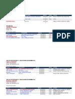 horarios categorias inferiores 6 10 2012