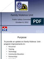 Item 4b. Family Violence Briefing