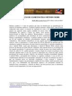 DETERMINAÇÃO DE CLORETOS PELO MÉTODO MOHR