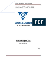 Report on Voltass