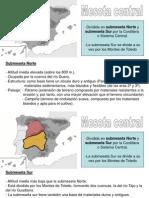 Relieve Interior España