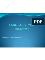 Land Surveying Practice