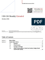 UBS CIO Monthly Extended October report