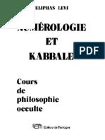 Eliphas_Lévi-Numérologie_et_Kabbale