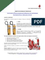 MEI 585 - Combate de Incendios Forestales