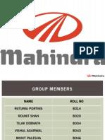 Mahindra Innovation n Enterpreneurship Final Pptx