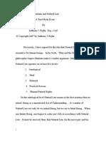 Maritain and Natural Law