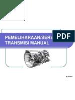 Pemeliharaan Dan Servis Transmisi Manual
