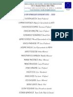 Membros Do Consello Escolar 2012-2013