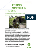 Protecting Communities in the DRC
